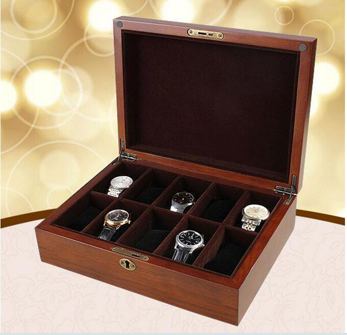 personalized luxury lacquered wood watch boxes