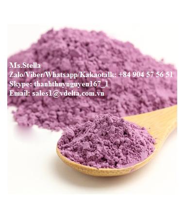 Purple Sweet Potato Powder/ Ms.Stella +84 904575651