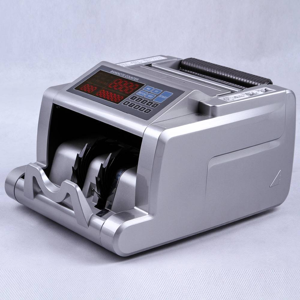 N2300 Money Bill Cash Banknote Currency Counting Machine with UV MG1 MG2 MG3 Detection