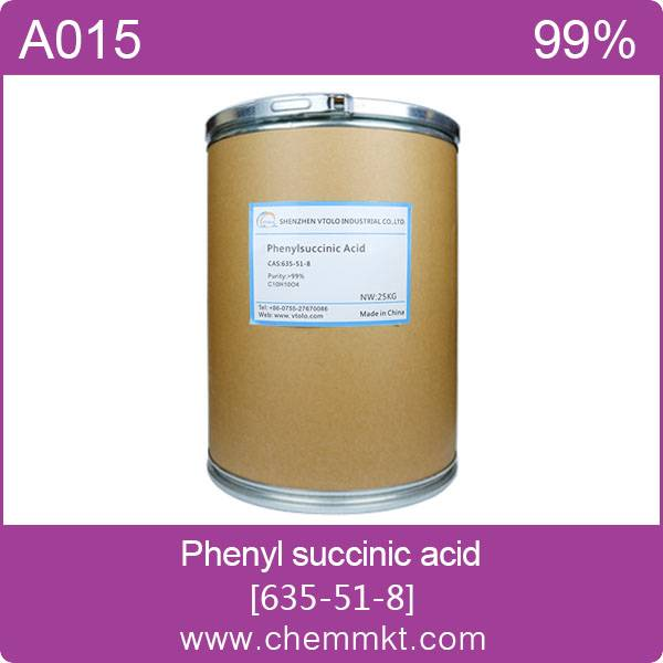 Low price DL-Phenylsuccinic acid Cas No.635-51-8