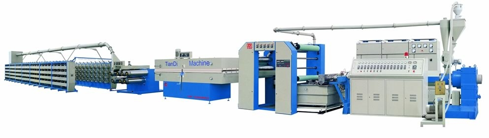 PP Flat Yarn Extruder and Stretching Machine (Tape Production Line)