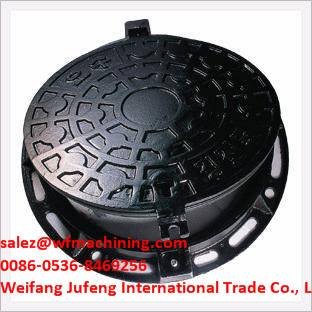 OEM Sand Casting Manhole Cover from China Foundry Supplier