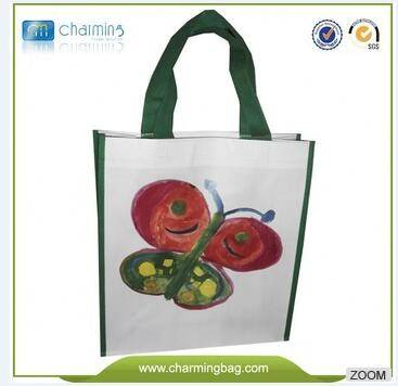 Promotional Non Woven Grocery Handle Shopping  Bags