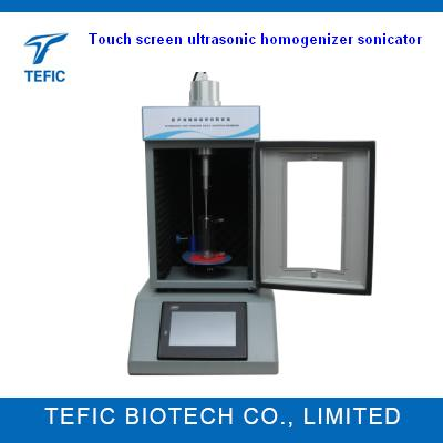 Touch screen Ultrasonic Homogenizer Sonicator To Disperse Nanomaterials
