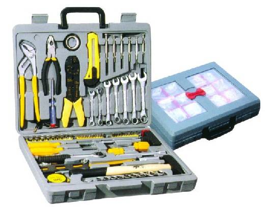 555PC Auto Repair Hand Tool Set, Professional Household Tool Kit