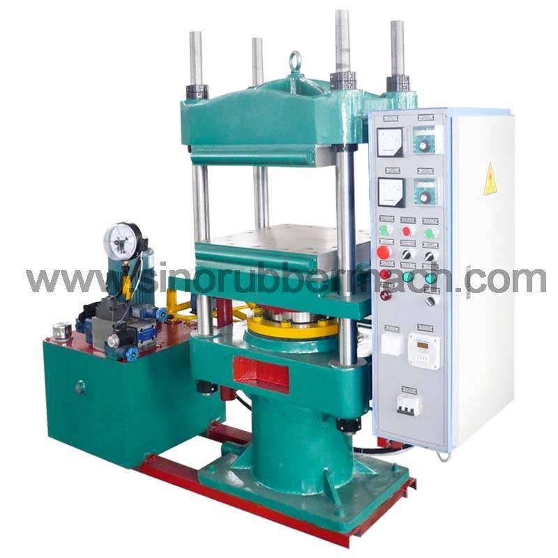 Laboratory plate vulcanizer