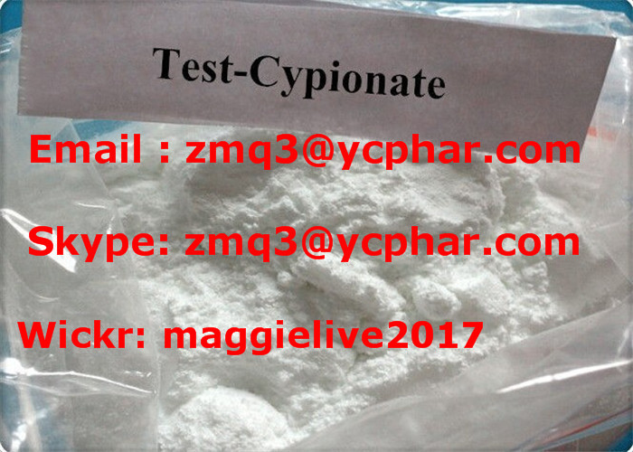 Muscle Gain Factory Direct Supply CAS No. 58-20-8 Testosterone Cypionate/Test Cyp