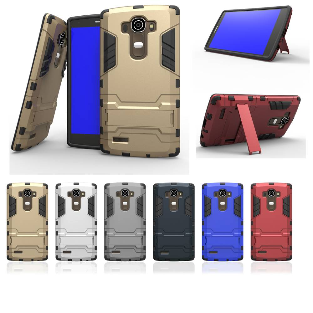 ShockProof Hybrid Stand Cover Armor Case for LG G4 Note G Stylus Stylo LS770 Leon C40 H340N G4C12