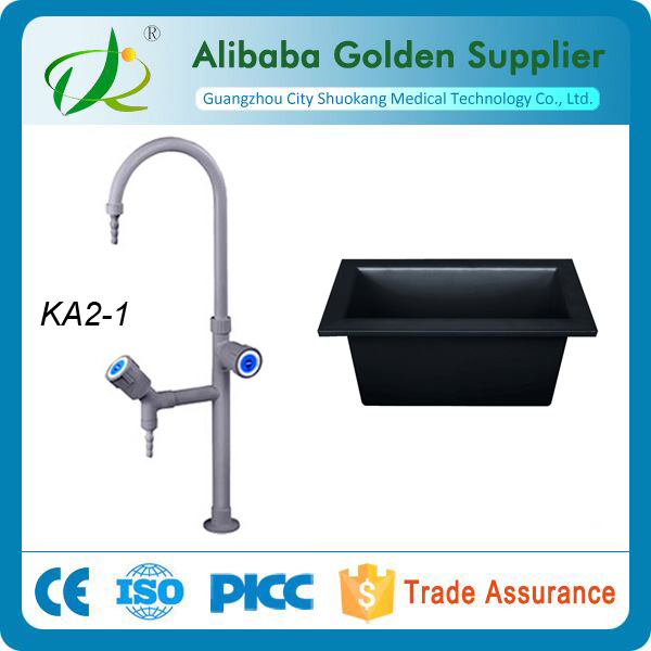 laboratory faucet and PP sink
