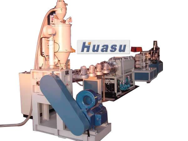 Plastic Pipe Machine-PE Carbon Spiral Pipe Extrusion Line