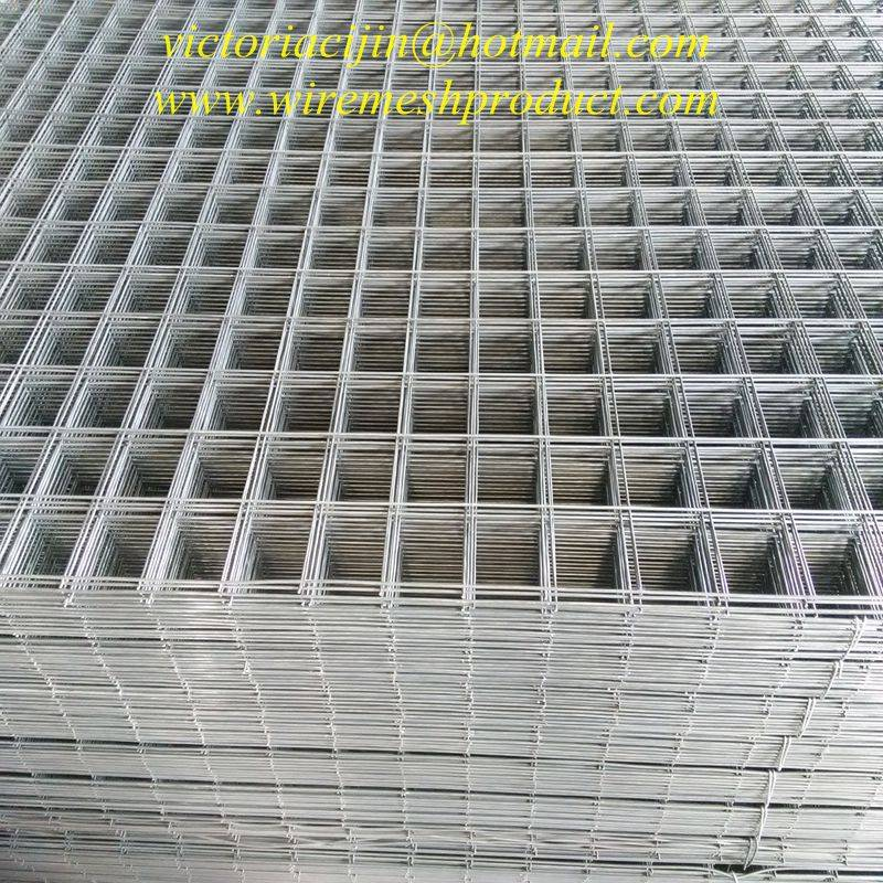 high quality galvanized welded wire panels