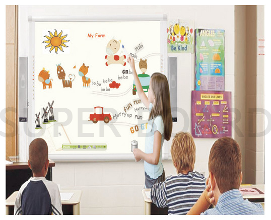 Super Board Single Pen Electromagnetic Whiteboard