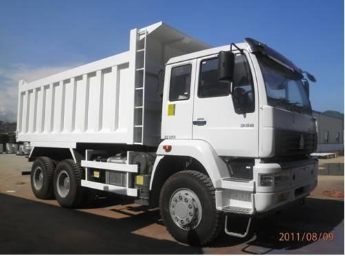 5.2m Golden Prince 6x4 Dump Truck