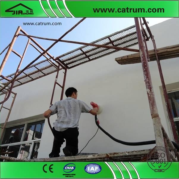 rub internal corner's drywall sander