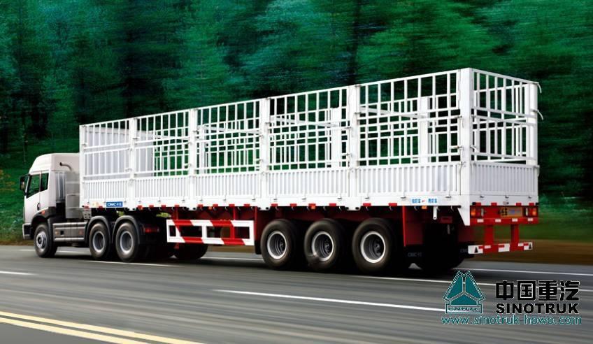 Stake Semi-trailer