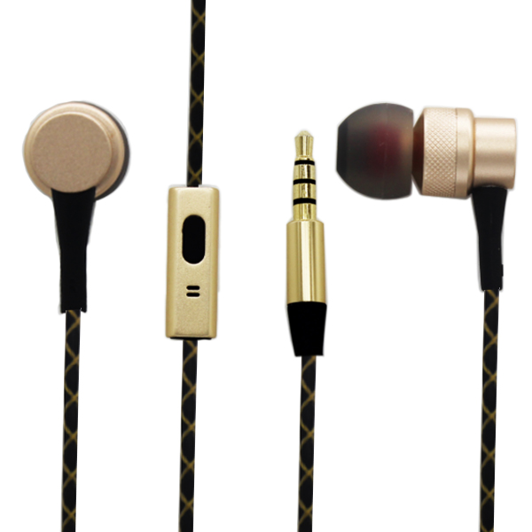 Stereo super bass OEM brand name RoHS earphones headphones with microphone