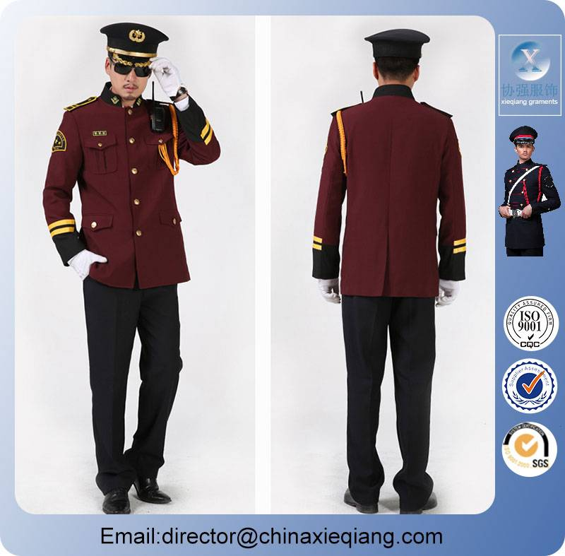 New arrivals custom-made men security uniform