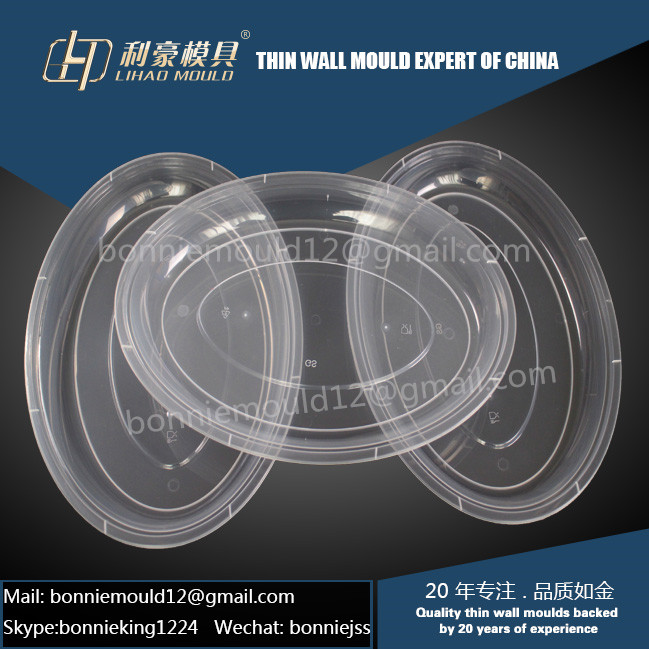 plastic thin wall plate mould