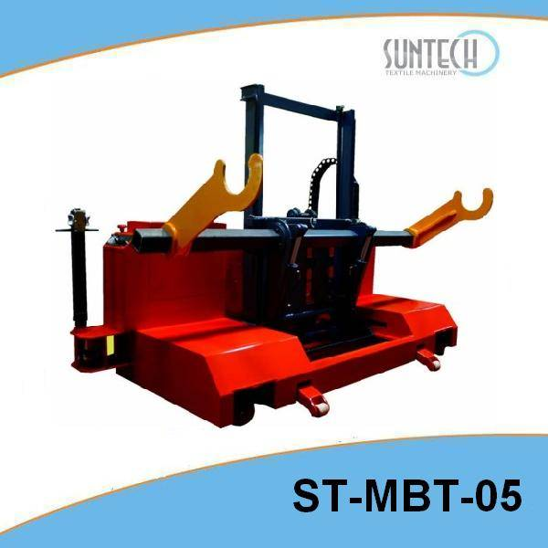 Motorized Warp Beam High Lift Trolley(for upper and bottom warp beam, with four way talent)(ST-MBT-0