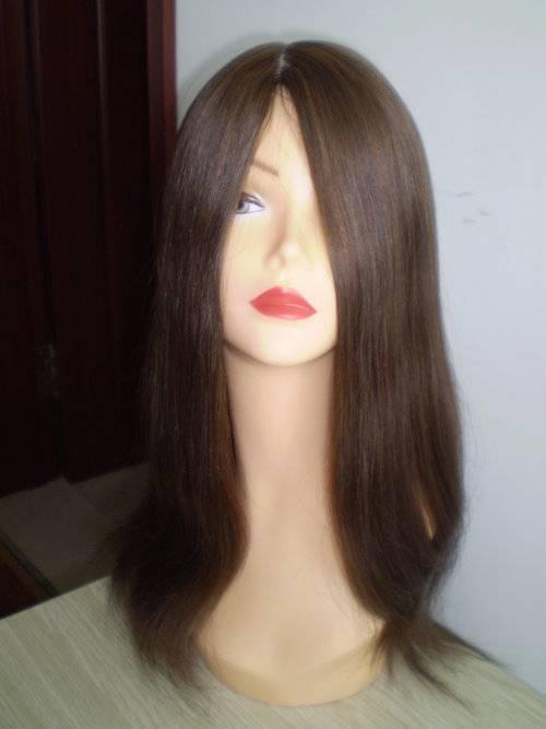 Jewish wigs,human hair wigs,lace wis with silk top,mono wigs,thin skin wigs