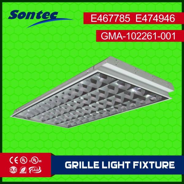 4X36W T8 1200X600 Fluorescent Grille lamp