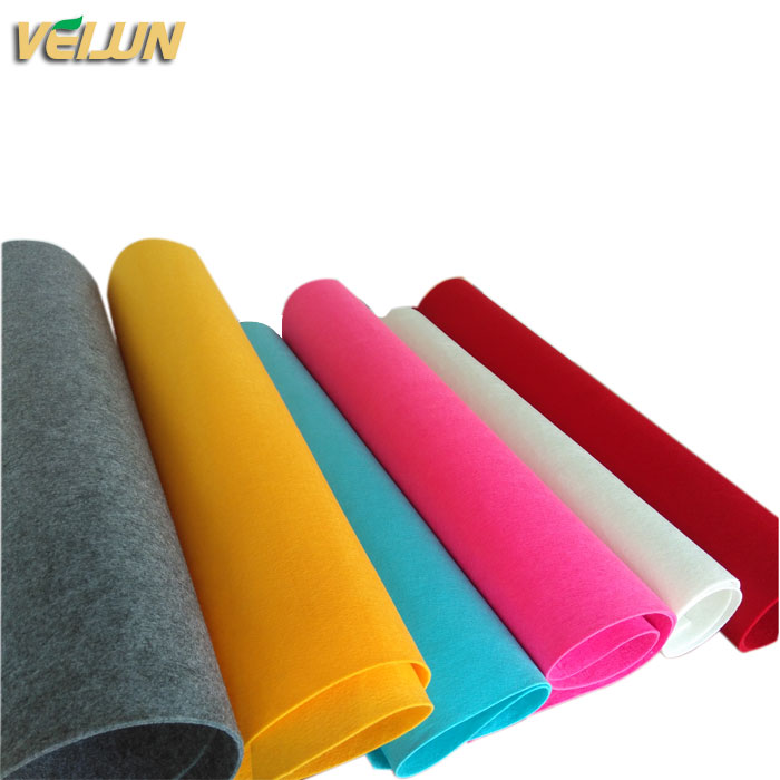 Polyester needle punched nonwoven fabric non woven blanket for hotel,household