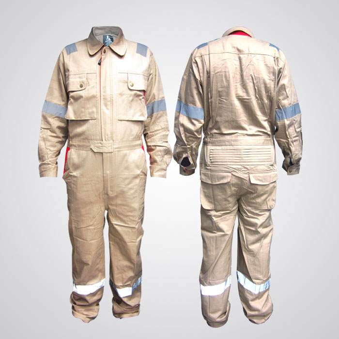 Doha Coverall with Reflective Tape
