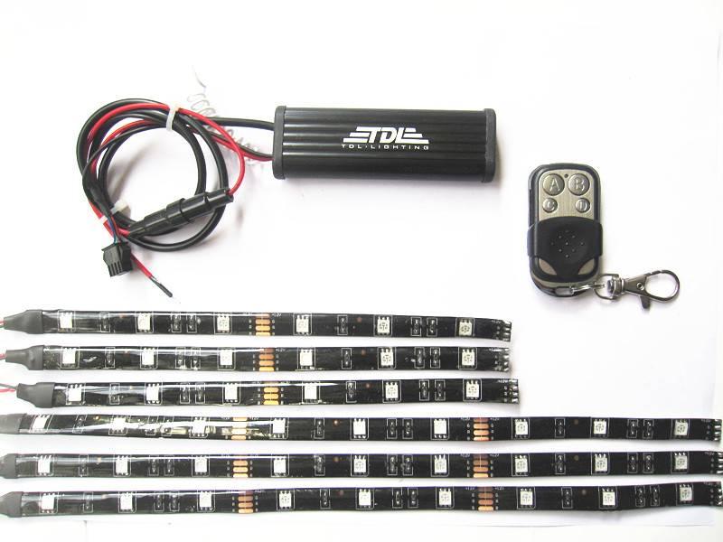 multi color undercar underbody led lights kits