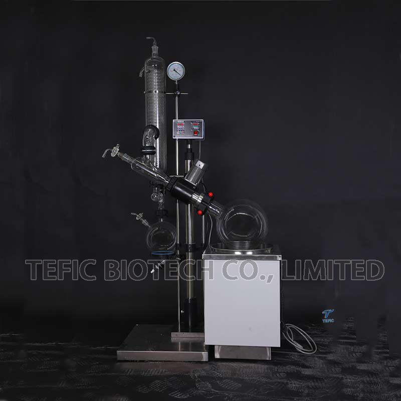 10L 20L Used Rotary Evaporator with Vertical Condenser for Pharmaceutical Chemical