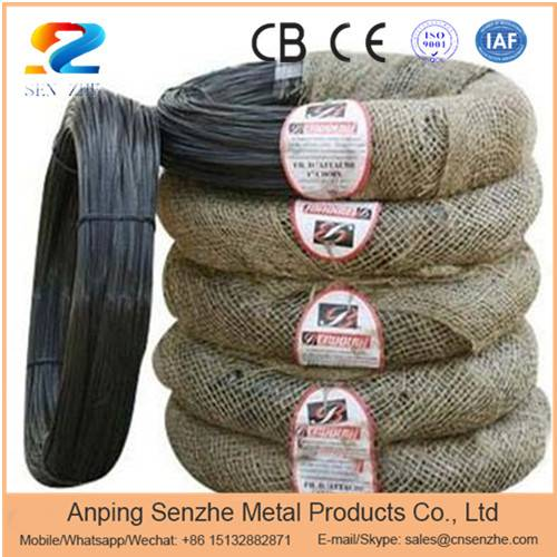 soft condition Q235 grade black annealed iron wire