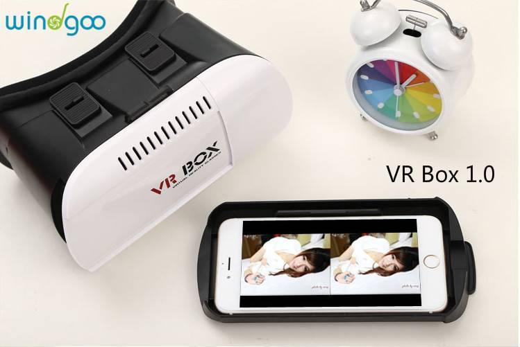 Adjust Cardboard 3D VR Virtual Reality Headset 3D Glasses Adjust Cardboard VR BOX Virtual Reality 3D