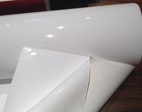 White Static Film for Glass SF1518W