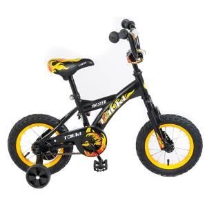 Tauki 12 Inch Kid Bike,Black,for 2-5 Years Old