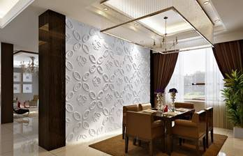 3d board wal l deco construction material eco-friendly