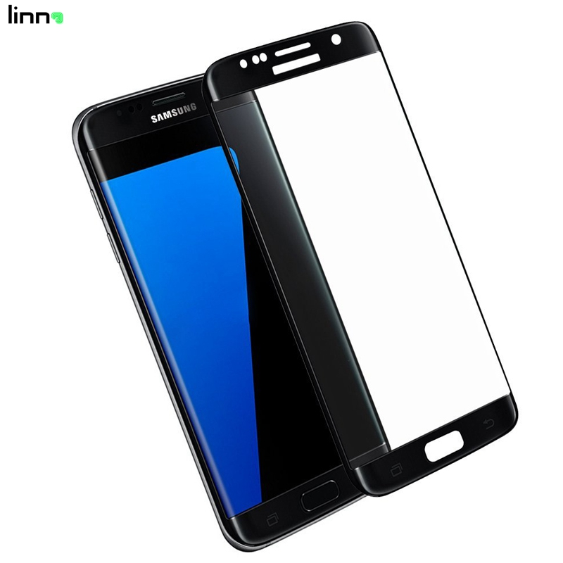 3D full cover tempered glass screen protector asahi for samsung galaxy s7 edge