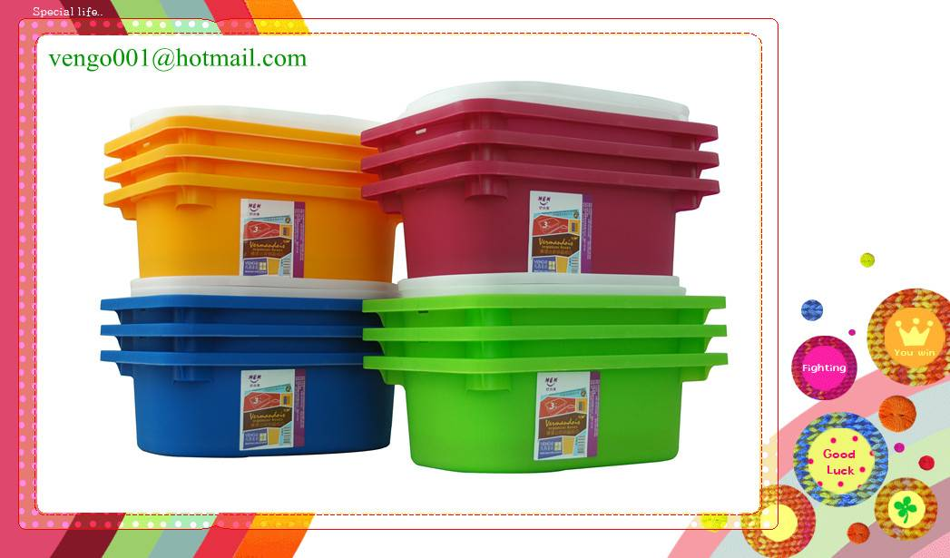 plastic sorting box
