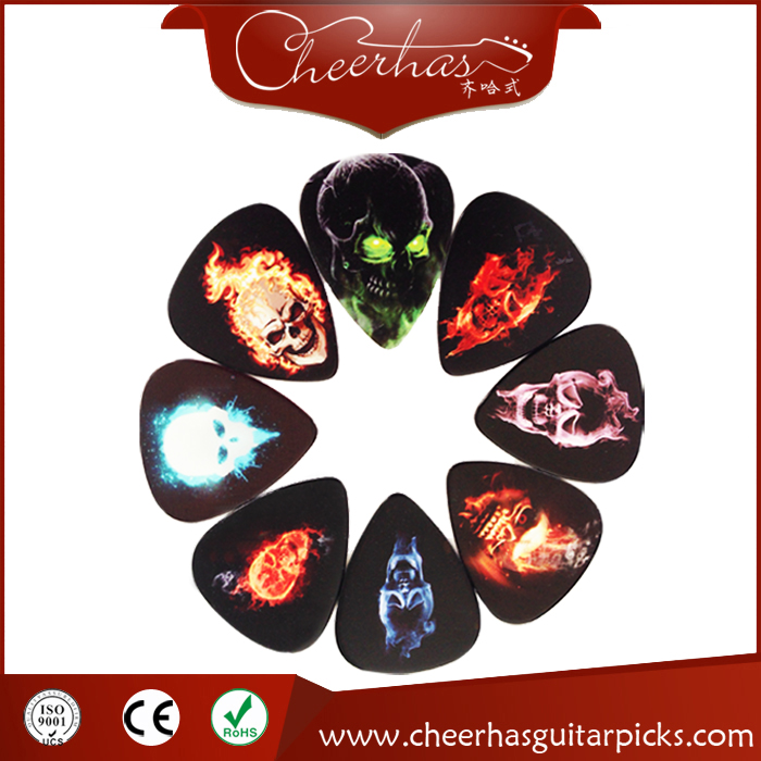 Skull Human Guitar Picks