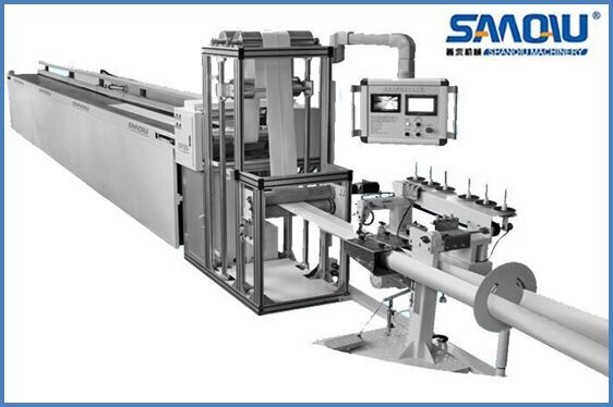 integrated feed textile machine