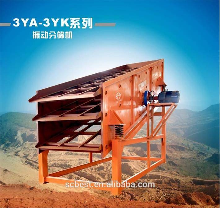 good quality vibrating screen for coal mining and crushing process best price