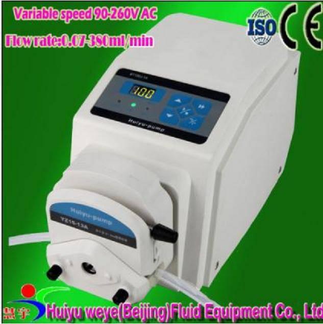 BT100J variable speed laboratory peristaltic dosing pump