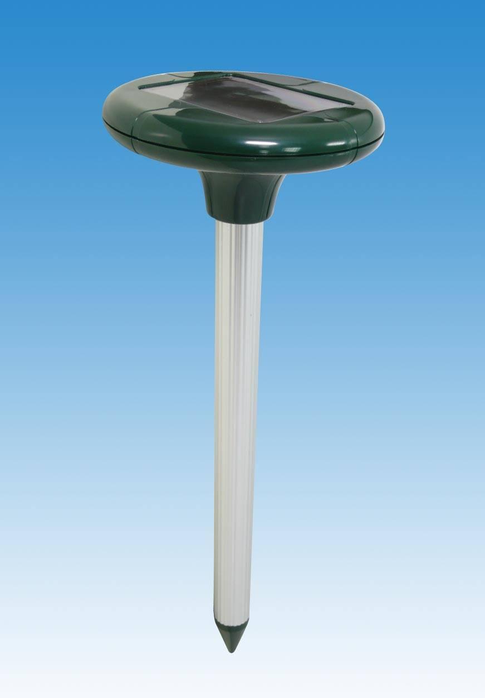 Solar ultrasonic mouse repeller