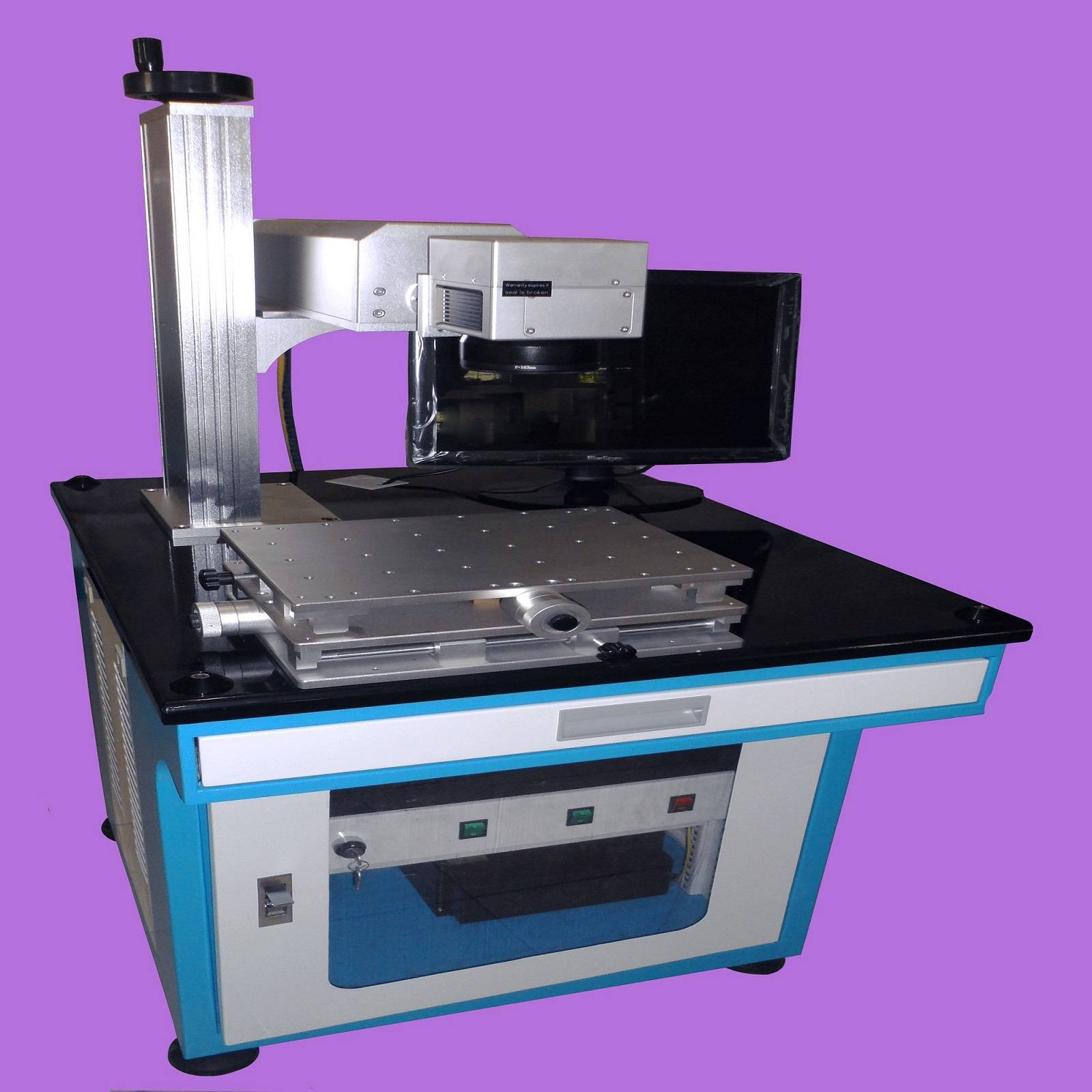high accuracy high speed fiber laser marking machine for metal and nonmetal