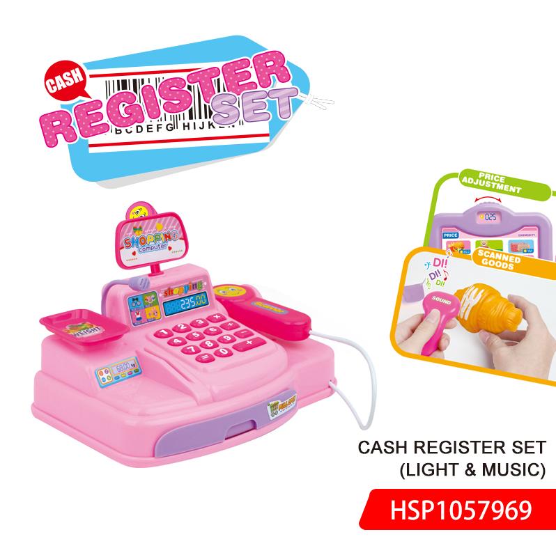 Cash Register set(light & music)