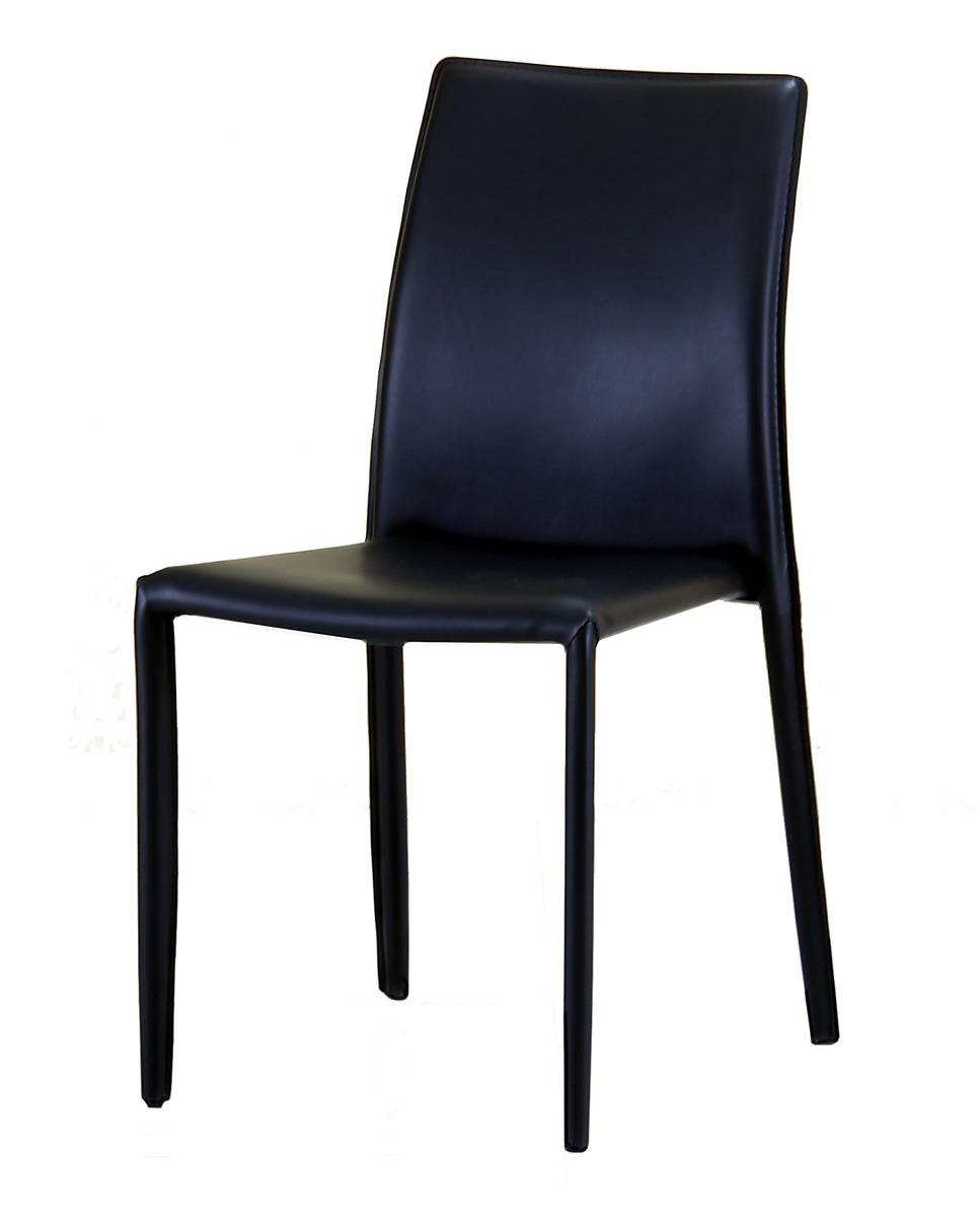 Stackable PVC Chair, with Covered Legs Office or Home Chairs