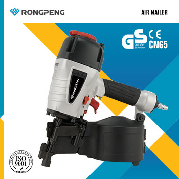 RONGPENG Two Way Coil Siding Nailer CN65