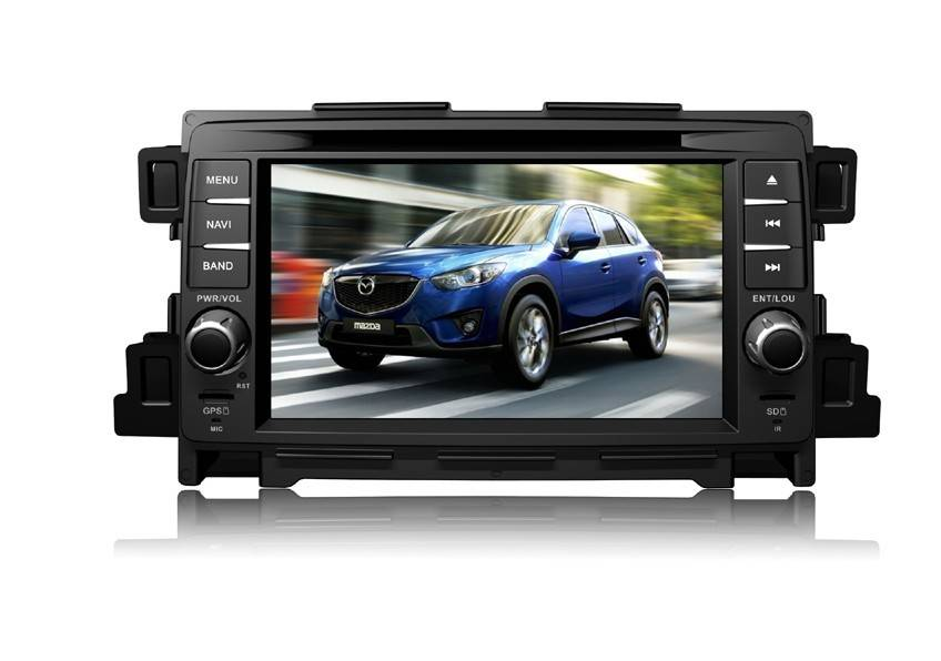 In-Dash Car DVD Player With GPS Navigation For Mazda CX-5,I7002