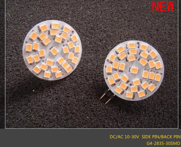 G4 LED AC/DC 10-30V Bulb 30SMD 2835