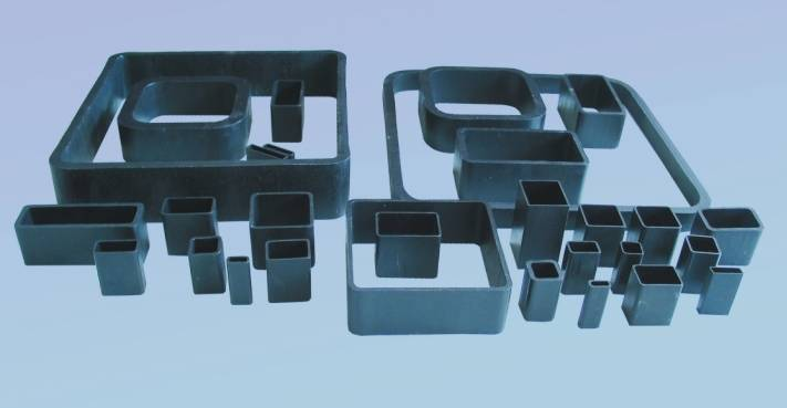 Seamless square and rectangular steel tube