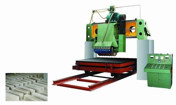 gantry built-up saw of stone cutting machine