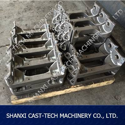 Shell Casting Cast Iron Bracket Engineering Machinery Parts